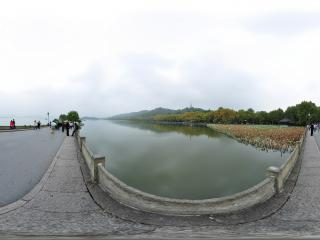 杭州西湖断桥残雪