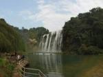 贵州省 黄果树瀑布全景
