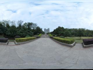 衡阳市生态公园 大门全景