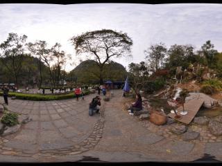 桂林 七星公园 乐水瀑布群