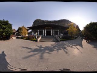 桂林 七星公园 栖霞禅寺内大雄宝殿