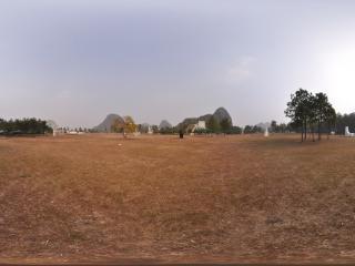 桂林愚自乐园 艺术园景