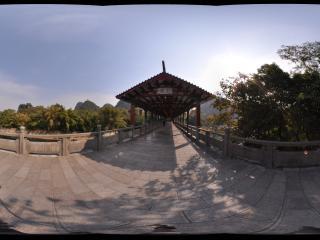 桂林 七星公园 花桥