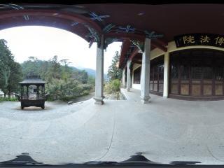 湖南 衡山 傅法院全景
