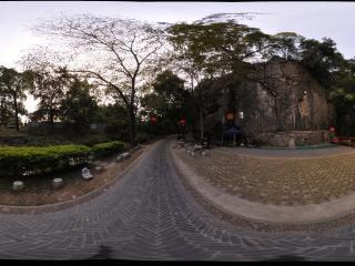 桂林 七星公园 攀岩场