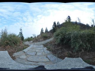 湖南 衡山 山路