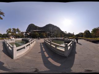 桂林 七星公园 栖霞禅寺