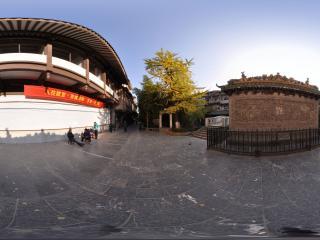 桂林 兴安灵渠 砖雕壁