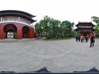 衡阳 南岳大庙 御碑亭全景
