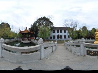 衡阳 南岳大庙 禅园观音金像