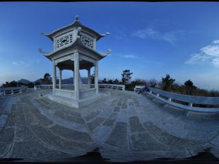 湖南 衡山 天柱峰亭