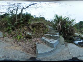 湖南 衡山 五岳溪全景