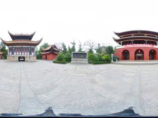 衡阳 南岳大庙 正南门全景