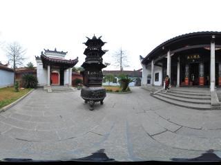 衡阳 南岳大庙 忠靖王殿