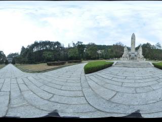 湖南 衡山 南岳忠烈祠广场纪念碑