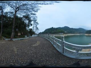 湖南 衡山 华严湖