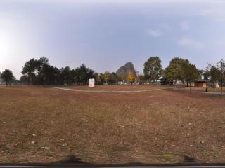 桂林愚自乐园 园景全景
