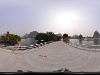 桂林愚自乐园 园景