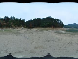 湖南 衡山 华严湖沙滩