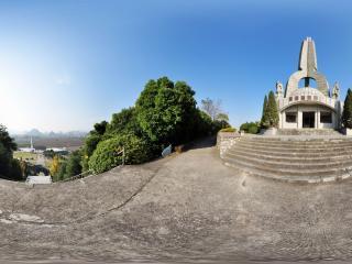 桂林 红军长征突破湘江烈士纪念碑园 纪念碑