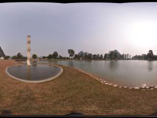 桂林愚自乐园 光湖