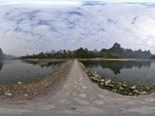桂林冠岩景区 外景