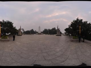 百色起义纪念碑园全景