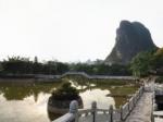 广西桂林银子崖全景