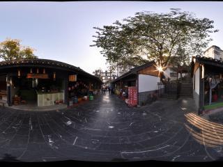 桂林 兴安灵渠 秦城街