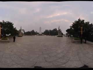 百色起义纪念碑全景