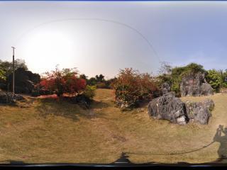广西省 崇左市 石景林公园 华山缩景全景