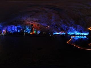 桂林 芦笛岩公园 水晶宫