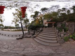 桂林 芦笛岩公园 景区入口