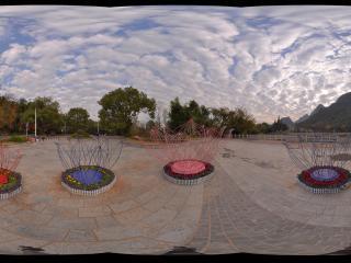 桂林 芦笛岩公园 景区外