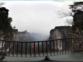 张家界市 天门山全景