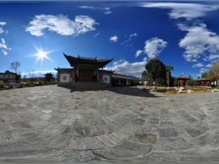 喜洲白族民居建筑群虚拟旅游