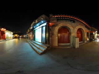 北京 烟袋斜街夜景