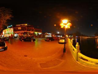 北京 后海 夜景
