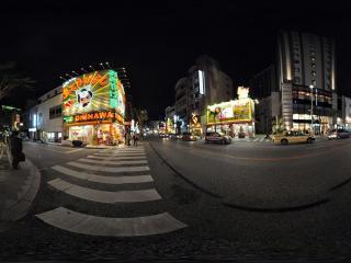 日本那霸市国际通大道