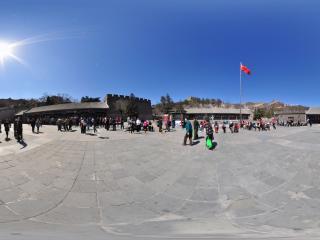 北京八达岭长城 广场全景