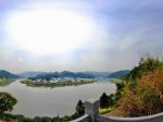 美丽的新安江全景