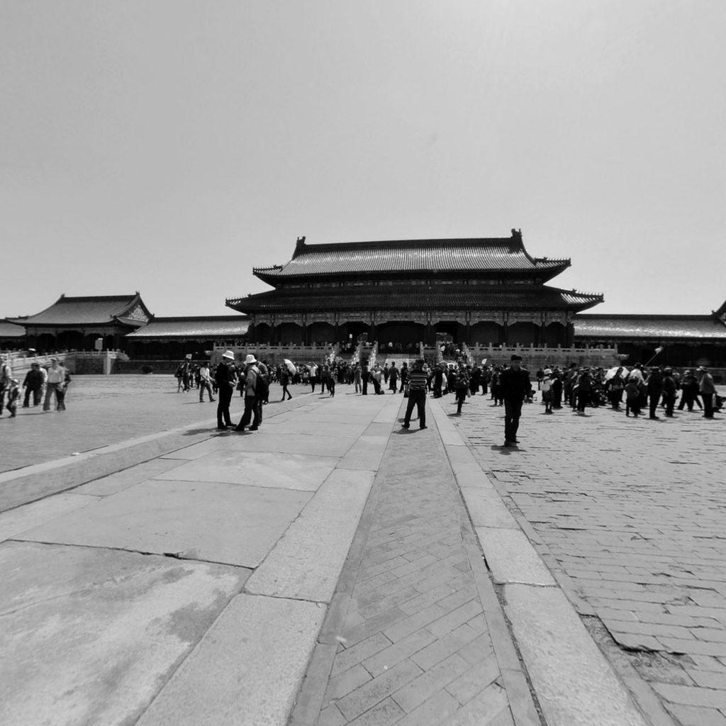 北京市故宫太和殿前广场高清图片