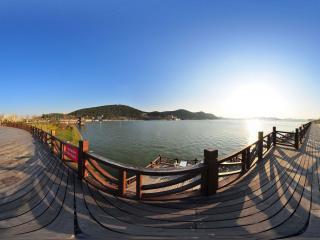 云龙湖全景