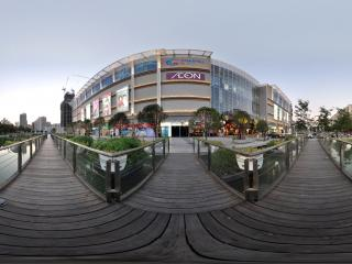 深圳海岸城购物中心夜景
