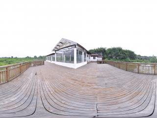 深圳海上田园湿地平台