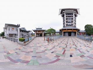 深圳海上田园仿古塔建筑