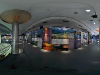 深圳海上田园生态文明馆内部展览能源宣传