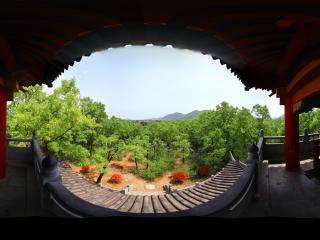 陕西汉中 武侯墓《眺望军山》(拍摄者:孙山)