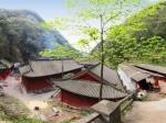 陕西汉中 小南海观音洞《舞檐飞甍》(拍摄者:孙山)全景