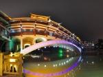 铜仁市兴市桥夜景全景